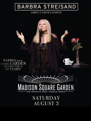 Barbra Streisand at Madison Square Garden
