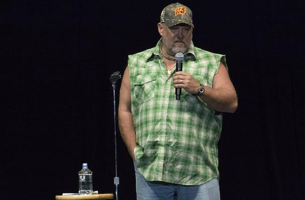 Larry The Cable Guy dates for your diary