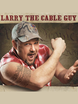Larry The Cable Guy Poster