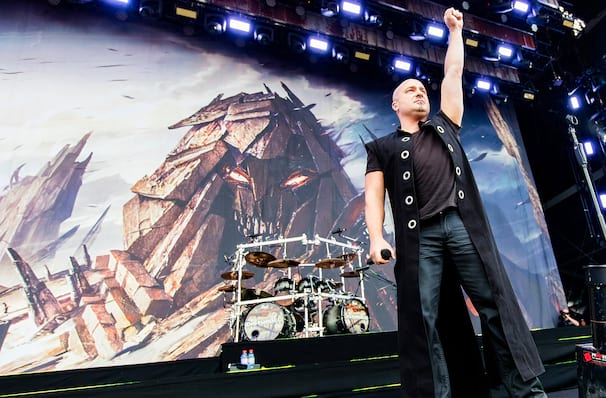 Disturbed, DCU Center, Worcester