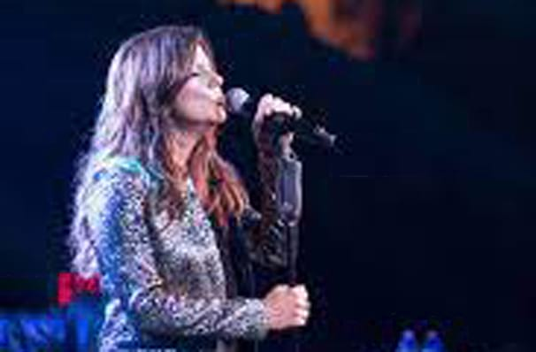 Don't miss Martina McBride one night only!