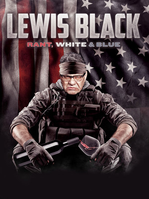 Lewis Black, Ruth Finley Person Theater, San Francisco