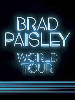 Brad Paisley, Northern Quest Casino Indoor Stage, Spokane