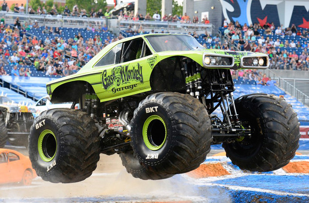 Monster Jam, Camping World Stadium, Orlando