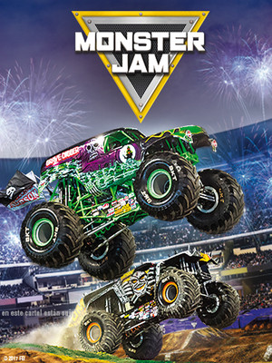 Monster Jam at Tingley Coliseum