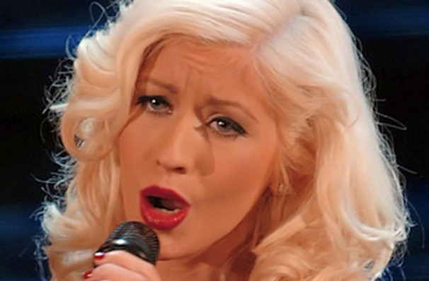Christina Aguilera, Wang Theater, Boston