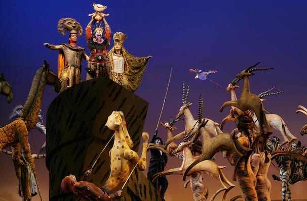 The Lion King, Minskoff Theater, New York