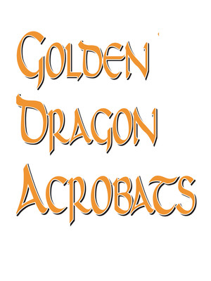 Golden Dragon Acrobat Circus Poster