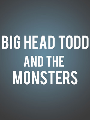 Big Head Todd and the Monsters, The Warfield, San Francisco