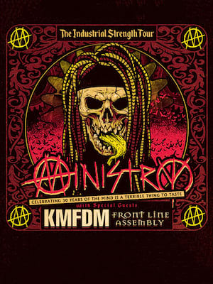Ministry, The Warfield, San Francisco