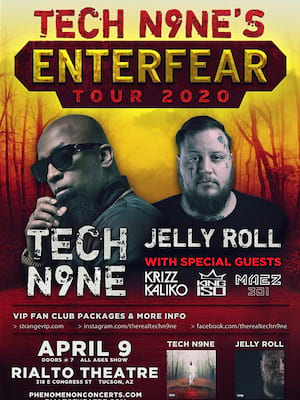 Tech N9ne, Belasco Theater, Los Angeles