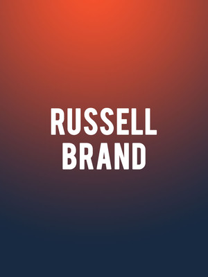 Russell Brand at Town Hall Theater