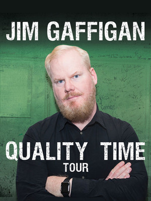Jim Gaffigan at The Aiken Theatre