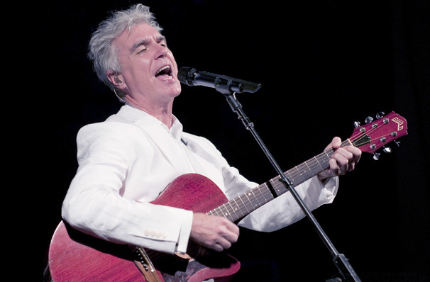 David Byrne, North Charleston Performing Arts Center, North Charleston
