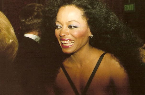 Diana Ross's whistlestop visit to Miami