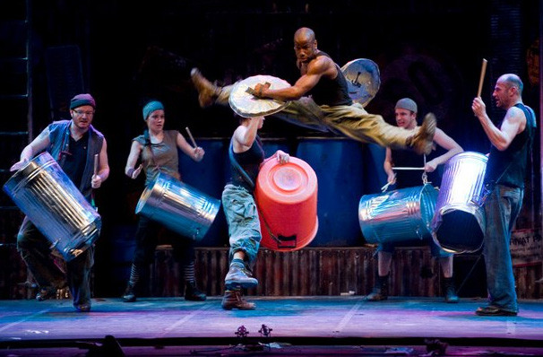 Stomp, Burton Cummings Theatre, Winnipeg