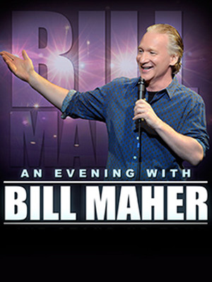 Bill Maher, Dreyfoos Concert Hall, West Palm Beach