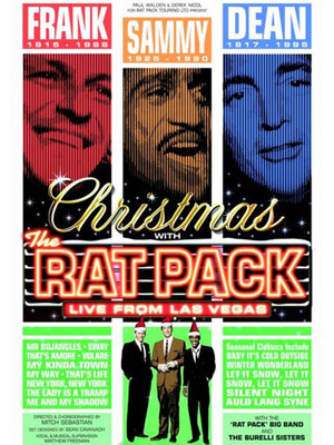 Christmas With The Rat Pack Poster
