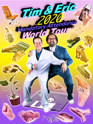 Tim and Eric at The Chicago Theatre
