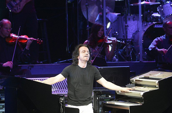 Don't miss Yanni, strictly limited run