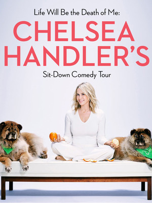 Chelsea Handler at Egyptian Room