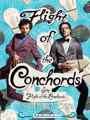 Flight of the Conchords at Marymoor Amphitheatre