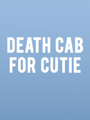 Death Cab For Cutie at Marymoor Amphitheatre