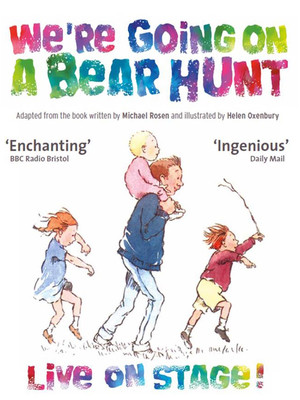 We re Going On A Bear Hunt Poster