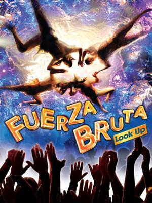 Fuerza Bruta: Look Up Poster