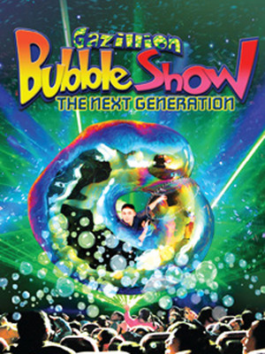 The Gazillion Bubble Show Poster