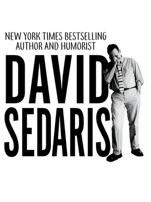 David Sedaris at Hoyt Sherman Auditorium