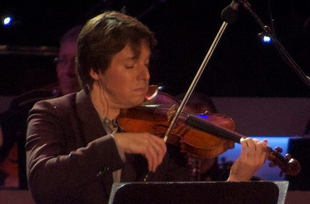 Joshua Bell, Kennedy Center Concert Hall, Washington