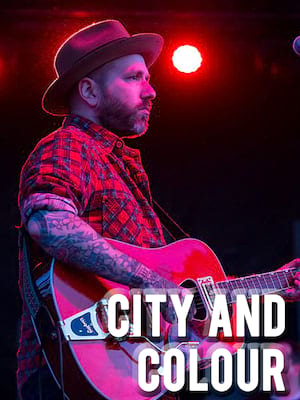 City And Colour, Scotiabank Saddledome, Calgary