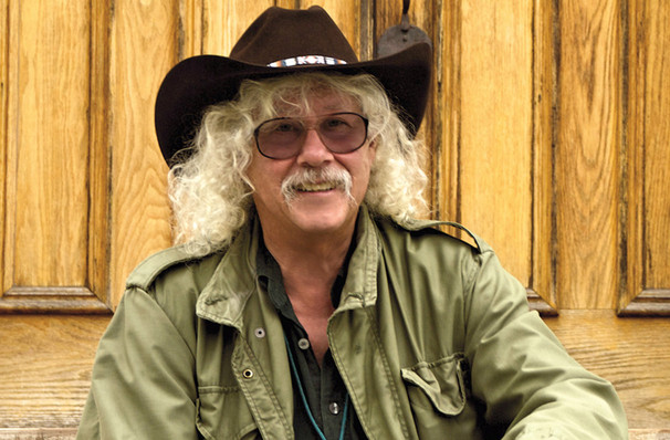 Just one chance to see Arlo Guthrie