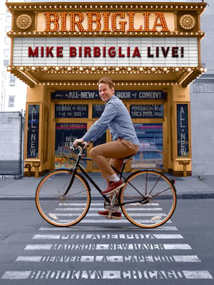 Mike Birbiglia at Carolina Theatre - Fletcher Hall