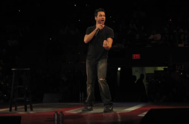 Dane Cook, Stephens Auditorium, Ames