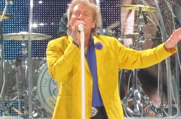 Rod Stewart, Blossom Music Center, Akron