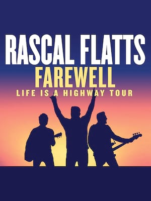 Rascal Flatts at DTE Energy Music Center