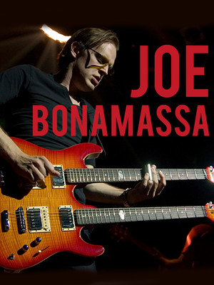 Joe Bonamassa, Mortensen Hall Bushnell Theatre, Hartford