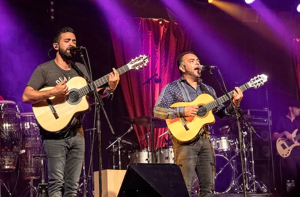 Gipsy Kings's whistlestop visit to Las Vegas