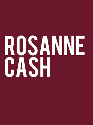 Rosanne Cash at Mccarter Theatre Center