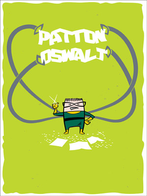Patton Oswalt Poster