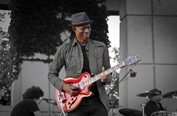 Just one chance to see Keb Mo