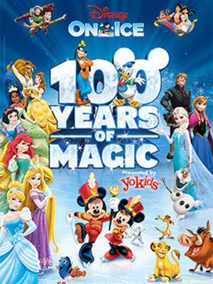 Disney On Ice: 100 Years of Magic Poster