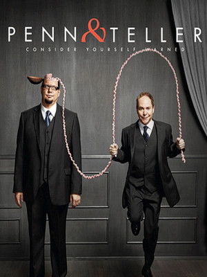 Penn & Teller at Penn and Teller Theater