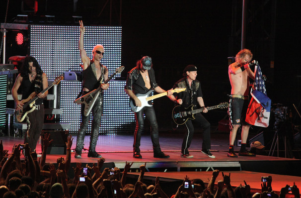 Scorpions, Hard Rock Event Center, Fort Lauderdale