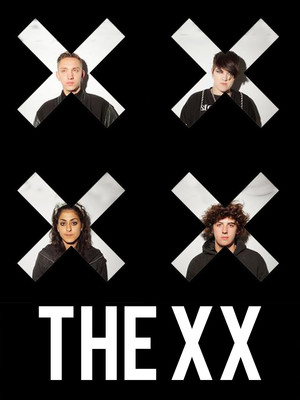 The xx at Bill Graham Civic Auditorium