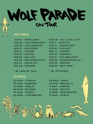 Wolf Parade at Paradise Rock Club