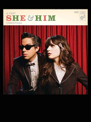 She and Him Poster