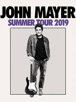John Mayer at Little Caesars Arena